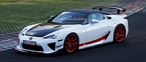 Lexus Tries to Set New Nurburgring Record with LFA AD-X [Video]