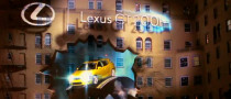 Lexus Turn Los Angeles Hotel into 3D Billboard