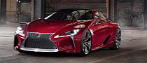 Lexus LF-LC Production Confirmed