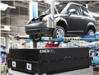 EnerDel powered Think on the assembly line