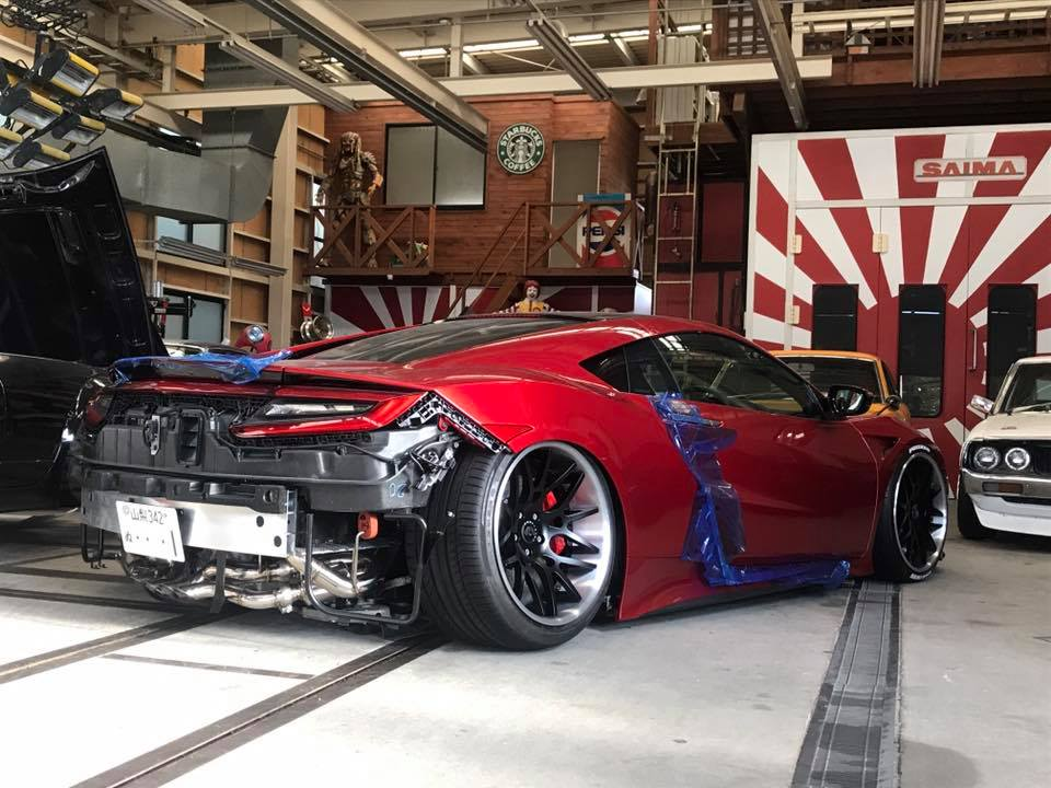 Liberty Walk Acura NSX Is Real, Widebody Looks ...