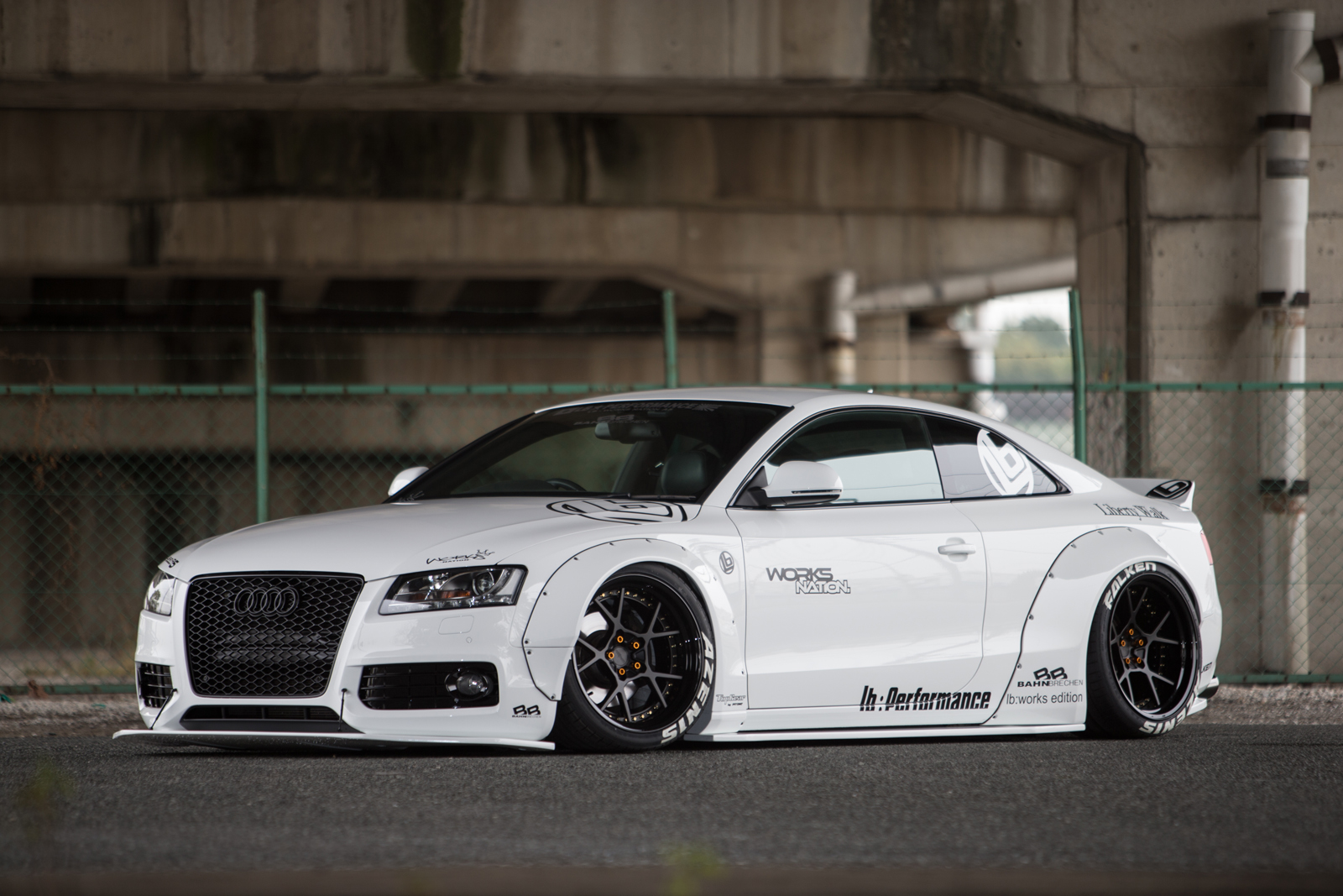 liberty walk audi a5 project is blessed by the widebody tuning gods autoevolution. Black Bedroom Furniture Sets. Home Design Ideas