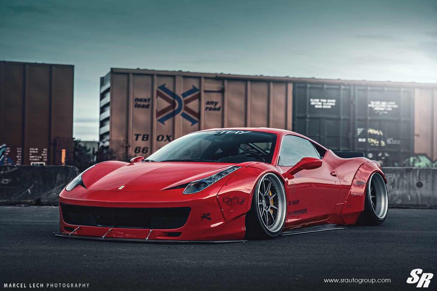 Liberty walk ferrari 458 italia on pur wheels italian for Be italia