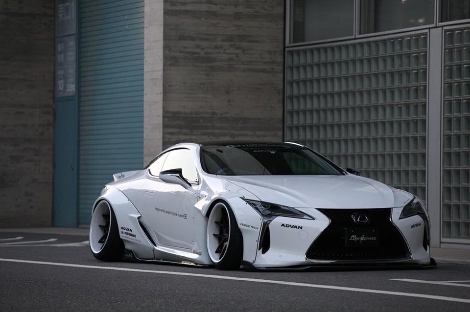 Liberty Walk Lexus LC500h Gets the Savage Hybrid Treatment ...