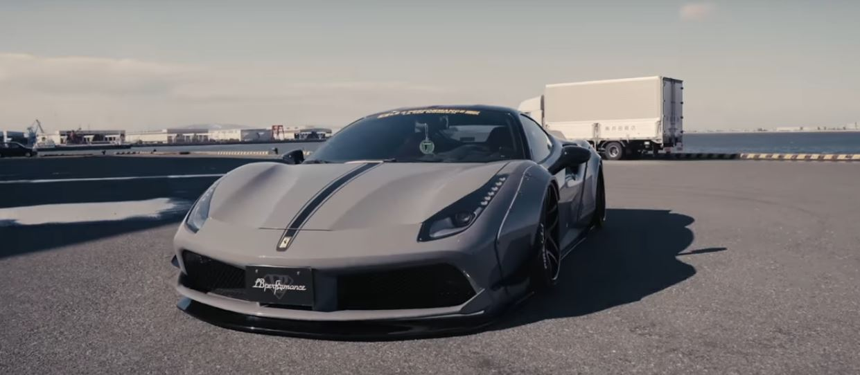 Liberty Walk Ferrari 488 with Decatted Fi Exhaust Acts Like a ... on liberty walk corvette, liberty walk mustang, liberty walk chevrolet, liberty walk m3, liberty walk gtr, liberty walk jeep, liberty walk 250 gto, liberty walk murcielago, liberty walk koenigsegg, liberty walk porsche, liberty walk lamborghini, liberty walk mercedes, liberty walk acura, liberty walk aventador, liberty walk ford, liberty walk range rover, liberty walk z4, liberty walk 458 spider, liberty walk cars, liberty walk bmw,
