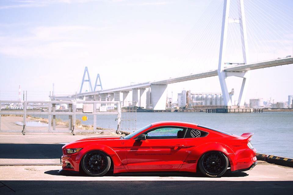 Liberty Walk Widebody Ford Mustang Is Not As Riced As You D Think