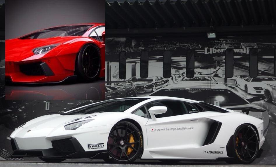 Liberty Walk Working On Widebody Kit For Lamborghini Aventador