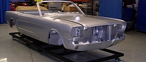 Licensed 1965 Ford Mustang Convertible Body Shell to Debut at 2011 SEMA