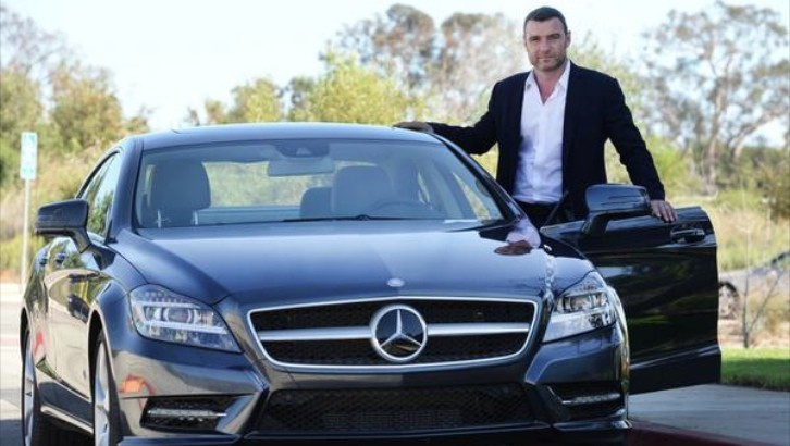 Liev Schrieber Is All About Style in His Mercedes CLS 550 ...