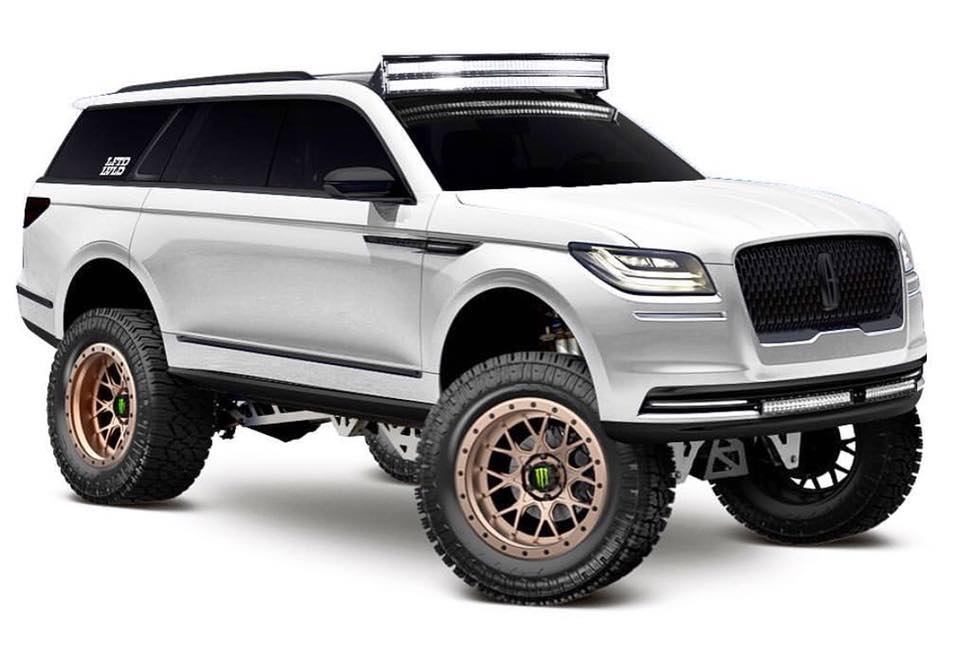 Lifted Lincoln Navigator Is A Looker Autoevolution