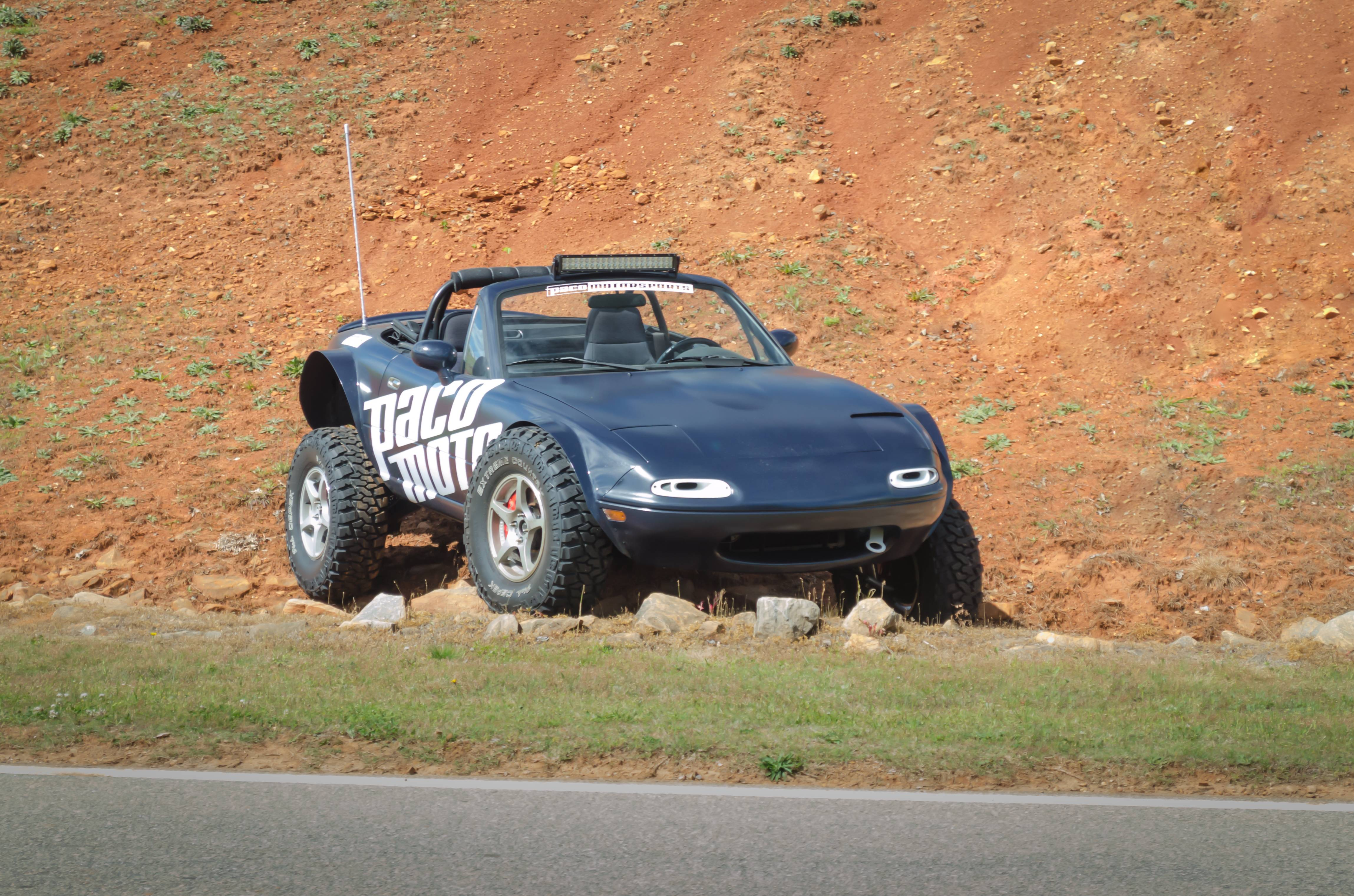 Lifted Mazda Miata Is the Awesome Baja Sportscar autoevolution