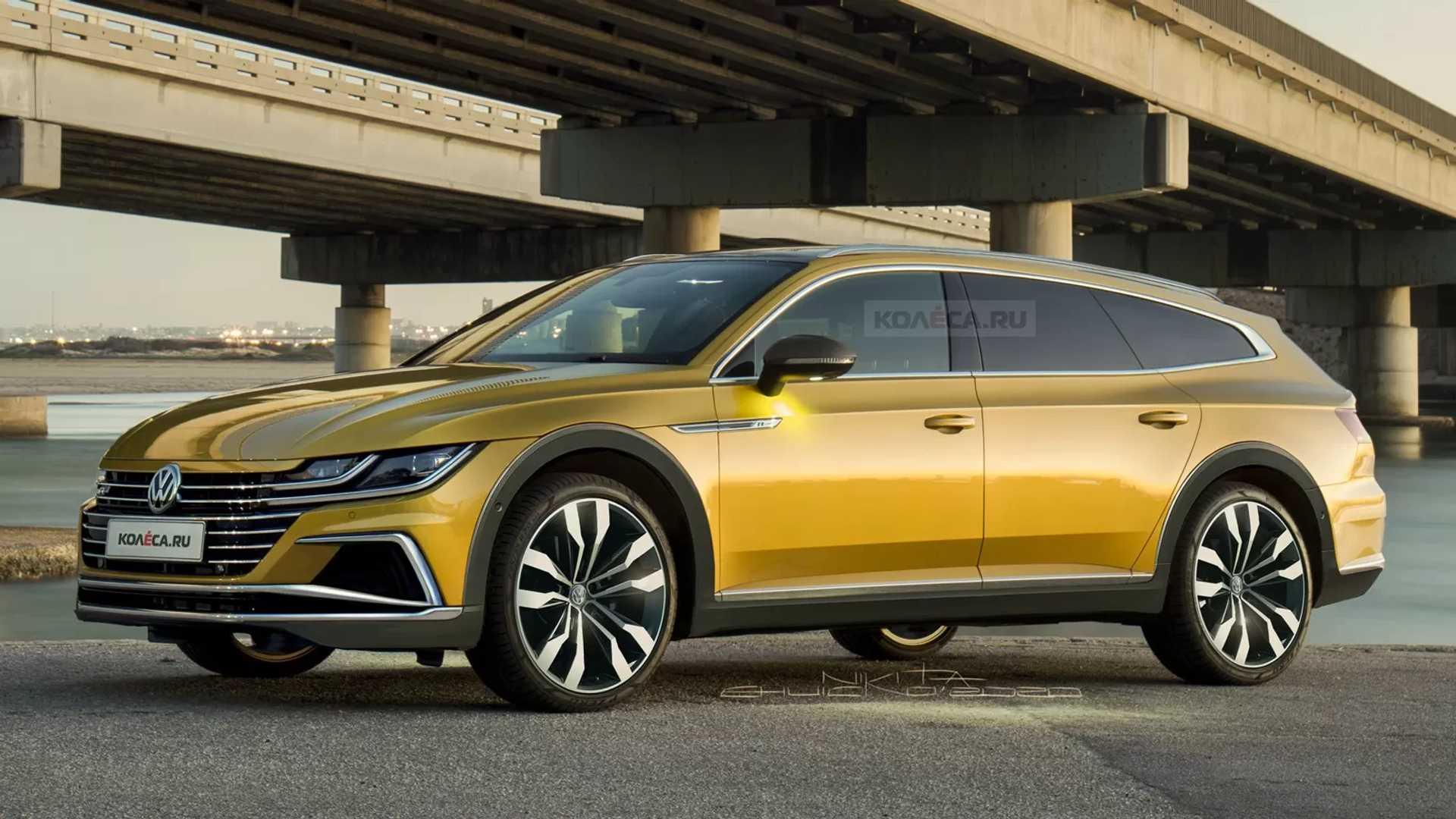 Lifted Volkswagen Arteon Shooting Brake Looks Like An Expensive Subaru Rival Autoevolution