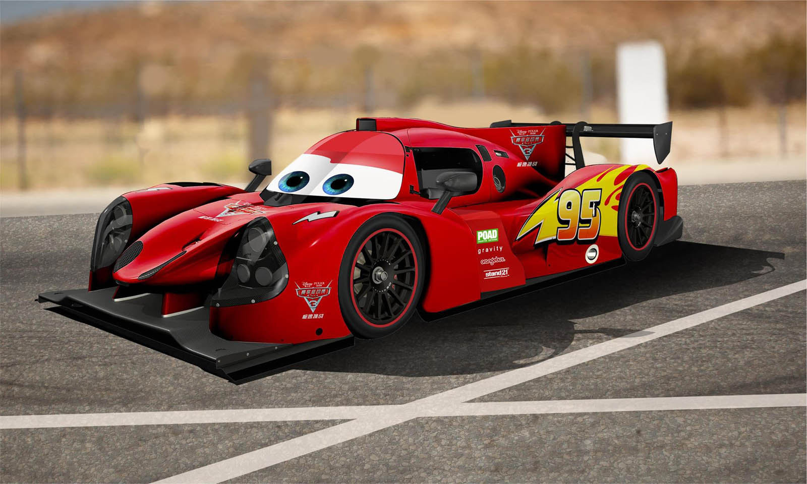 Lightning Mcqueen To Come To Life Thanks To Lmp3 Series Racing