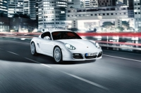 The facelifted Porsche Cayman S