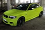 Lime Green BMW 1M Coupe from Schwabenfolia [Photo Gallery]
