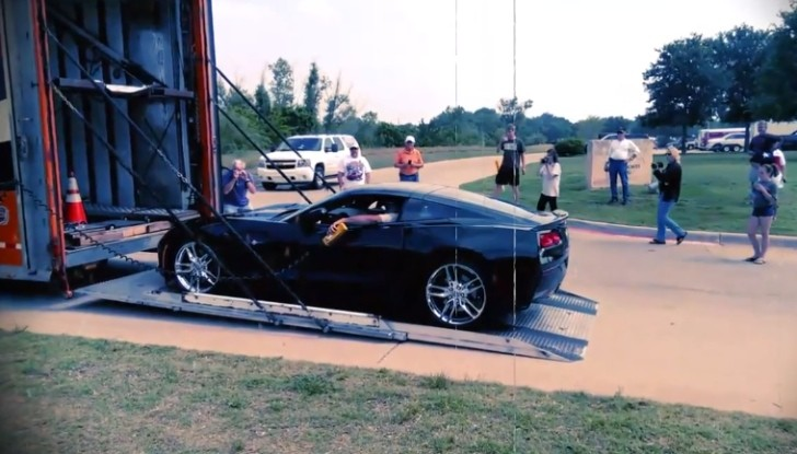 Lime Rock Green 2014 Corvette Stingray Shows Up in Texas [Video]