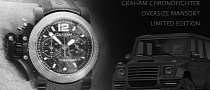 Limited Edition Graham Chronofighter Oversize Mansory Watch Unveiled