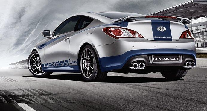 Limited Edition Hyundai Genesis Coupe Gt For Germany Only Autoevolution