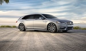"""Lincoln Continental """"Shooting Brake"""" Rendered With Big Trunk and Lots of Legroom"""