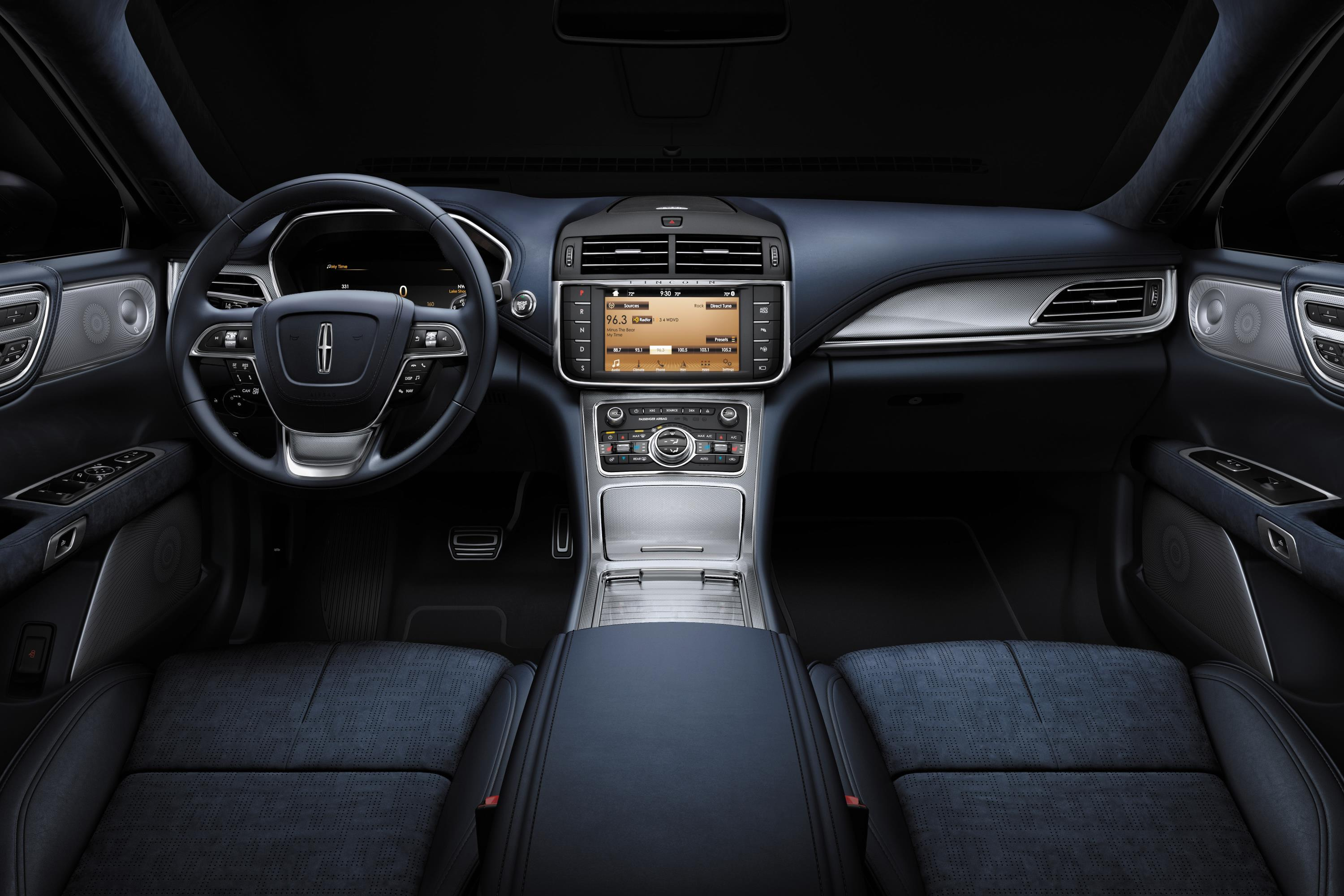 Lincoln Black Label >> Lincoln Shows Off Continental Black Label With Rhapsody Theme