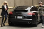 Lindsay Lohan's Porsche Hits a Man and Flees the Scene