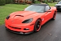 Lingenfelter C6 Corvette Matte Red Wrap [Photo Gallery]