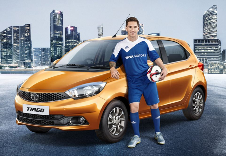 Lionel Messi Is The Global Brand Ambassador For Tata