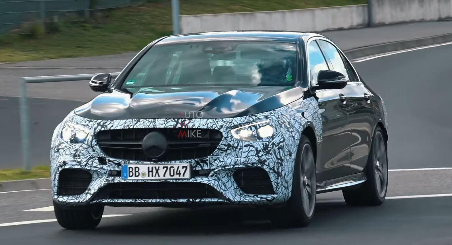 listen to the 2021 mercedes-amg e63 sedan and wagon