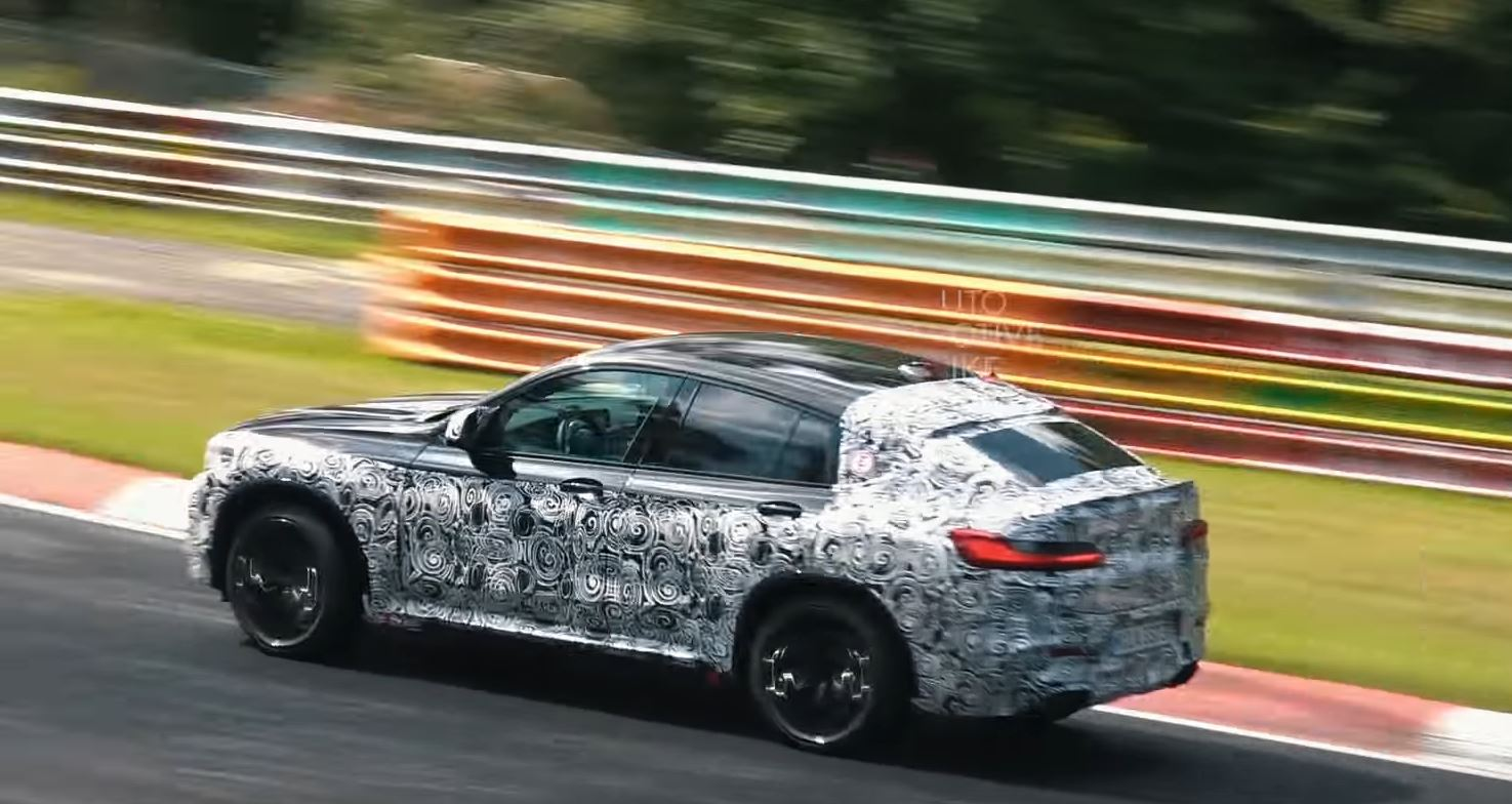 Listen To The Bmw X4 M Testing Its S58 Engine At The