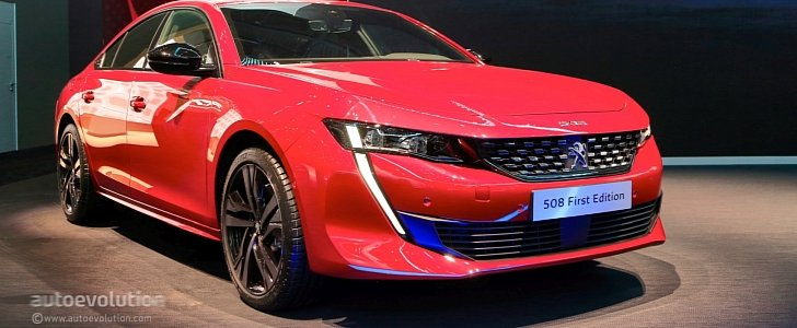 live peugeot 508 first edition stuns geneva with four door coupe look autoevolution. Black Bedroom Furniture Sets. Home Design Ideas
