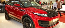 Live Photos: Larte Design Range Rover Evoque at the Essen Motor Show 2013
