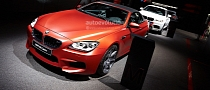 Live Photos of BMW F12 M6 at 2013 Frankfurt Motor Show