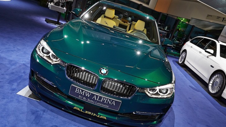 Live Photos of the Alpina Stand at Frankfurt 2013 [Photo Gallery]
