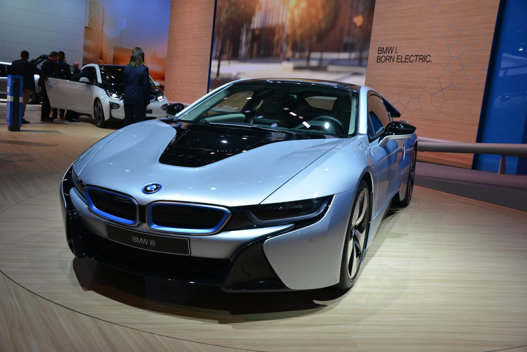 Live Photos Of The Bmw I8 At 2013 Frankfurt Motor Show Autoevolution