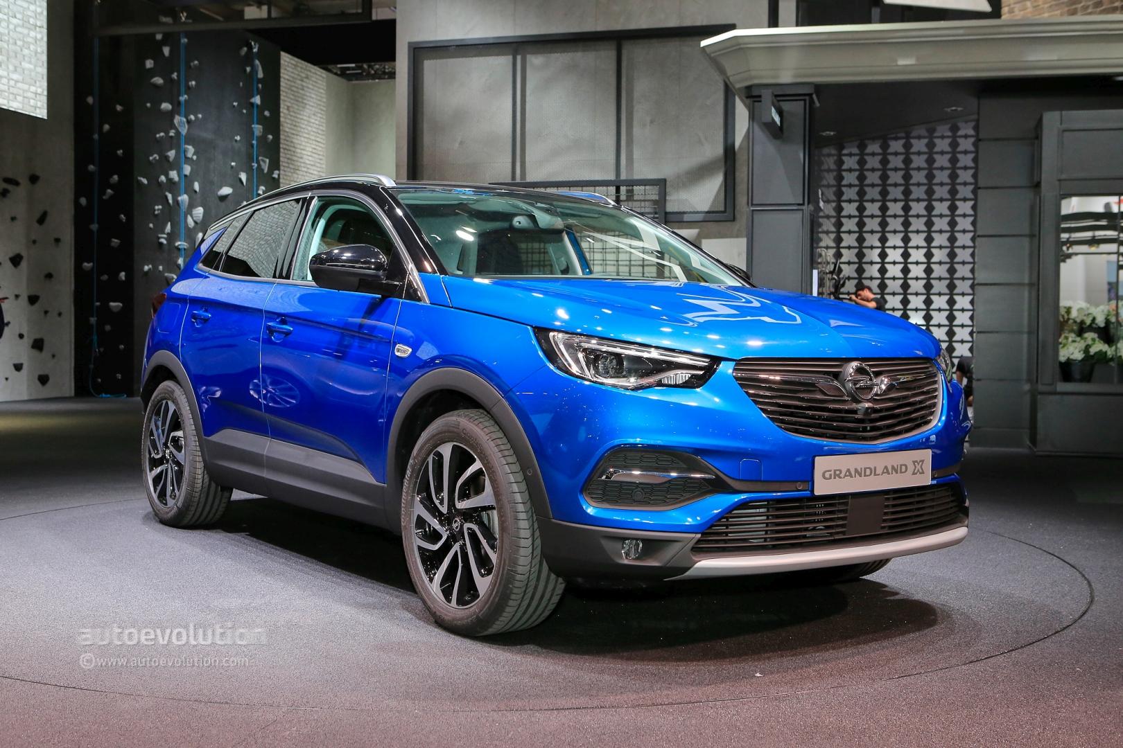 Opel Grandland X, Insignia GSi and Country Tourer Bow in Frankfurt - autoevolution