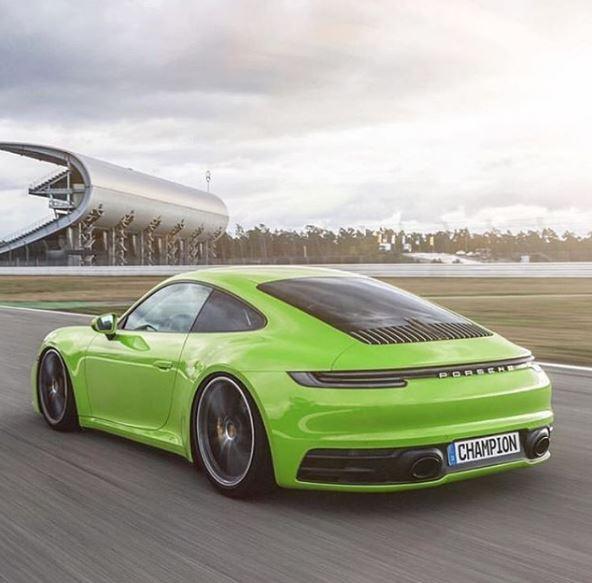Lizard Green 2020 Porsche 911 Looks So Real