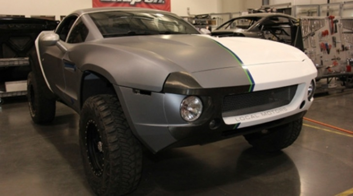 Local Motors Rally Fighter to Participate in Gumball 3000
