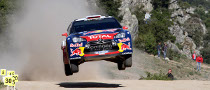 Loeb Win Rally d'Italia, in Sardegna