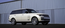 Long Wheelbase Autobiography Black Range Rover Bows in LA [Video]