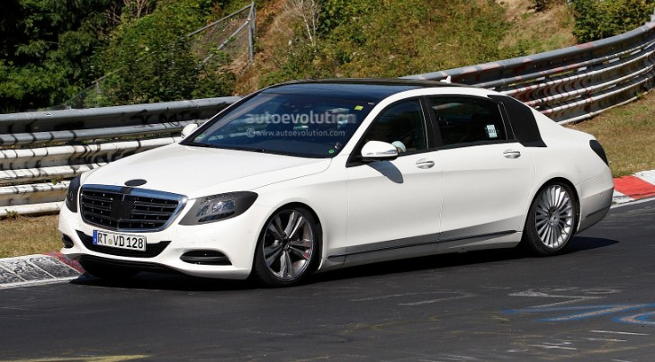 Long-Wheelbase S-Class Wafting on the Nurburgring [Photo Gallery]