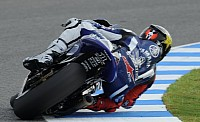 Lorenzo takes win in damp conditions, at Jerez