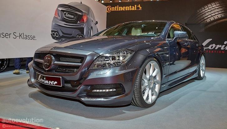 Lorinser Gives The MercedesBenz CLS A Slight Overhaul At Essen - Overhaul car show