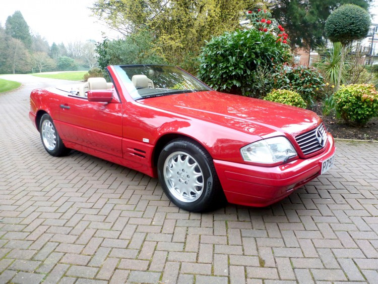 Pristine Mercedes Benz Sl500 For Sale At Auction It Only Has 81