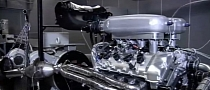 Lotus Esprit New V8 Engine Teaser Video
