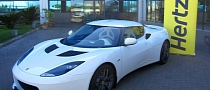 Lotus Evora Offered as Hertz Rental Car