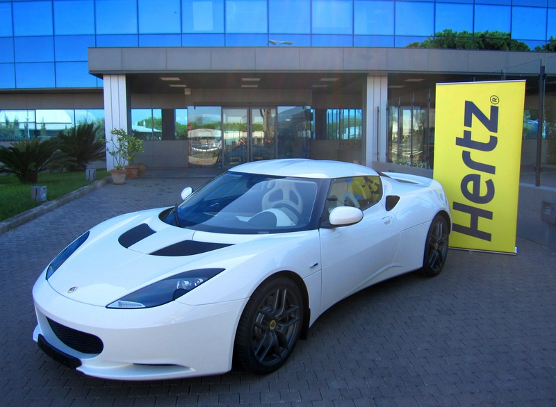 Lotus Evora Offered As Hertz Rental Car Autoevolution
