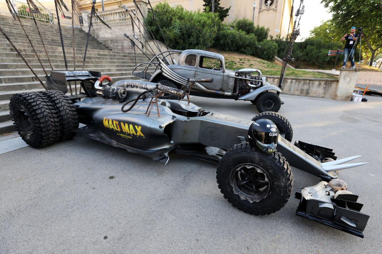 Lotus F1 Team Joins The Fury Road Craze With Mad Max Ed