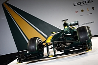 Picture from the official unveiling of the 2010-spec Lotus T127
