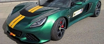 Lotus Shows Off Exige V6 Cup at Brands Hatch