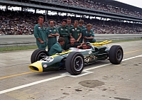 Lotus Indy500 car from 1965